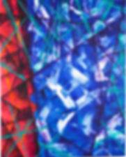 Liminal Space #3, 2015. Acrylic on canvas. 150cm x 120cm.
