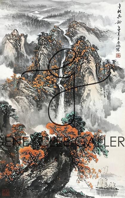 李东旭 Li Dong Xu, 97cm x 59cm
