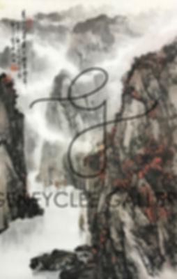 郑震 Zheng Zhen, 55cm x 89.5cm