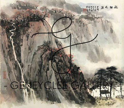 郑震 Zheng Zhen, 65.3cm x 57cm