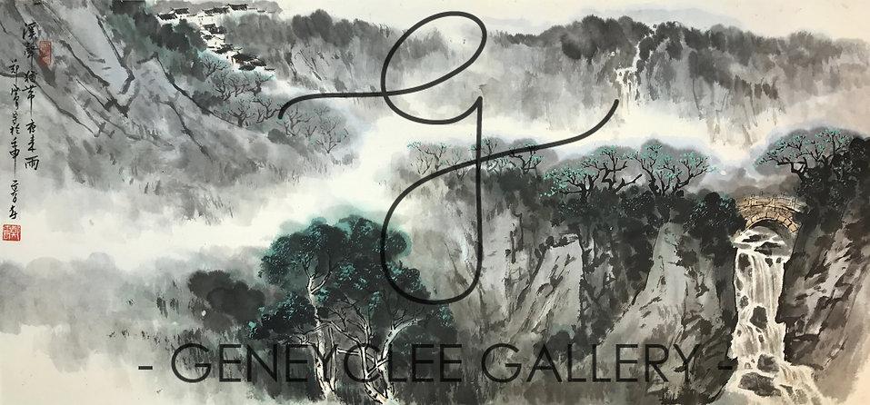 郑震 Zheng Zhen, 122cm x 64cm