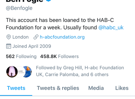 Ben Fogle has given us his Twitter account for a week!
