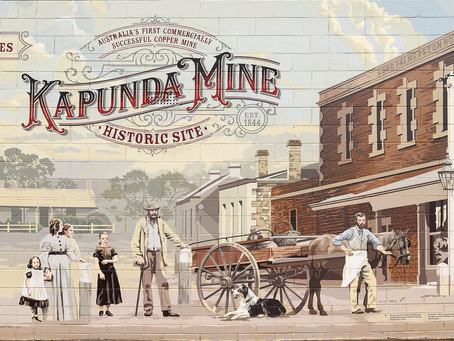 Kapunda Took Out Gold, But the Town Struck Copper