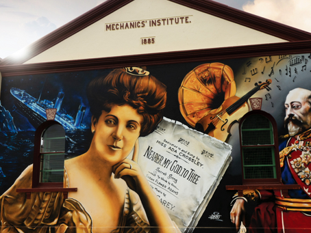 Her Song Played as the Titanic Sunk, Her Mural Adorns a Gippsland Town