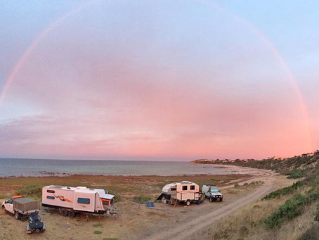 Champagne Campsites on a Beer Budget - Yorke Peninsula