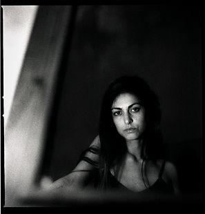 Analog portrait of Naninca Lemmens, Amor Fati photo series