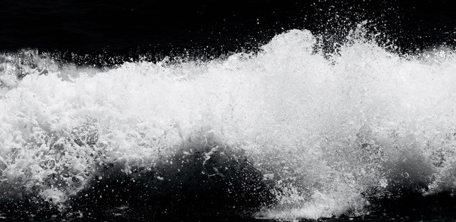 """Splash"" B&W Series #2"