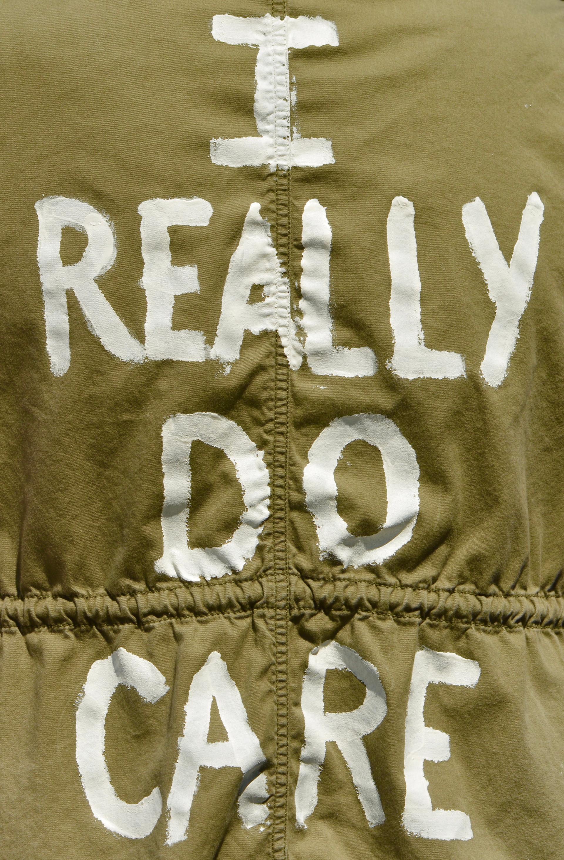 """I Really Do Care"""