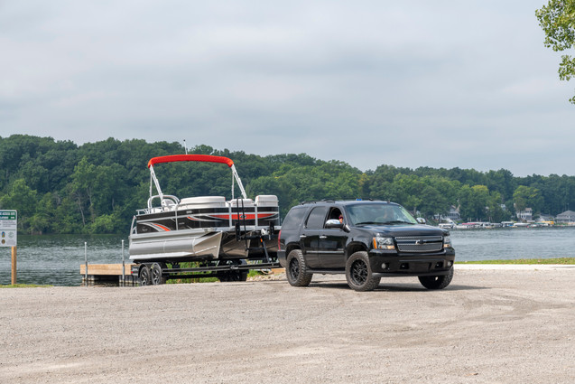 LS 818 XRE Cruise at Boat Launch