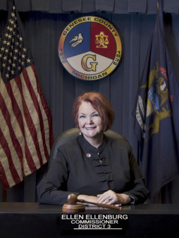 Commissioner Ellen Ellenburg