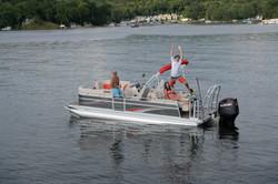 LS 822 Splash Pad with Optional Lillipad Diving Board