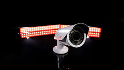 Bullet Camera Surveillance Product Image Lighting