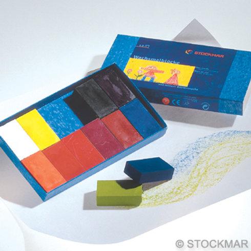 STOCKMAR 12色蠟磚