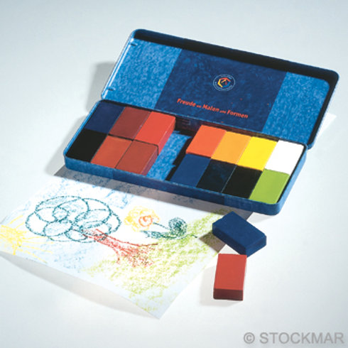 STOCKMAR 16色蠟磚