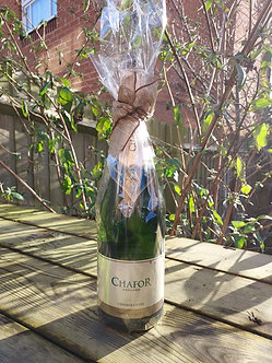 Chafor Sparkling Cuvée gift wrapped