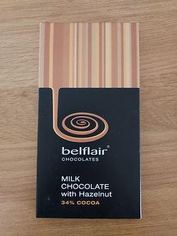 Belflair Milk Chocolate with Hazelnut