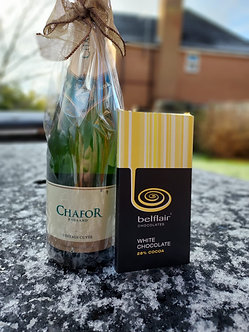 Chafor Sparkling with White Chocolate