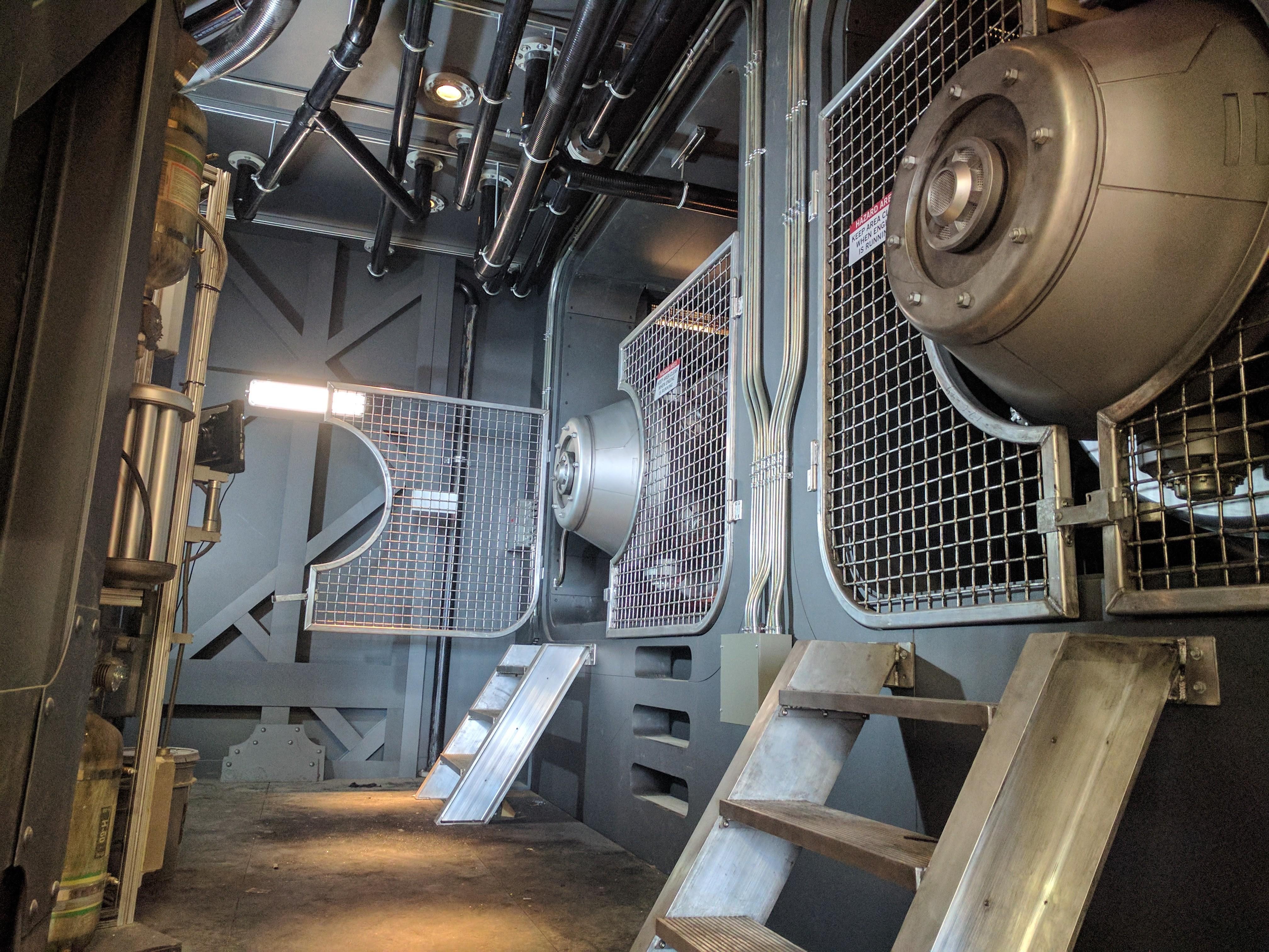 Jupiter Engine Room