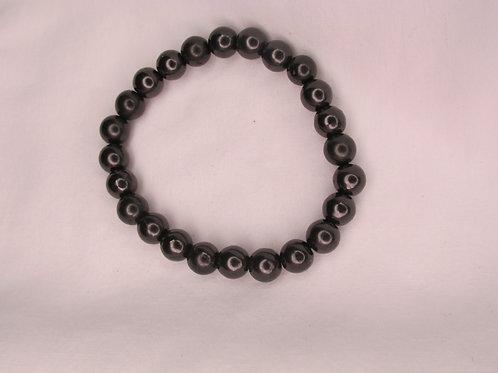 Shungite 8mm Bead Bracelet