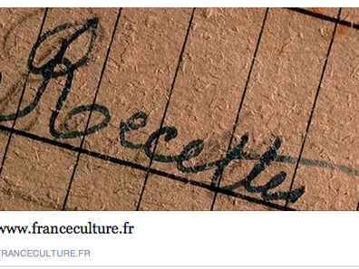Interview D'Anne Georget, Radio France Culture