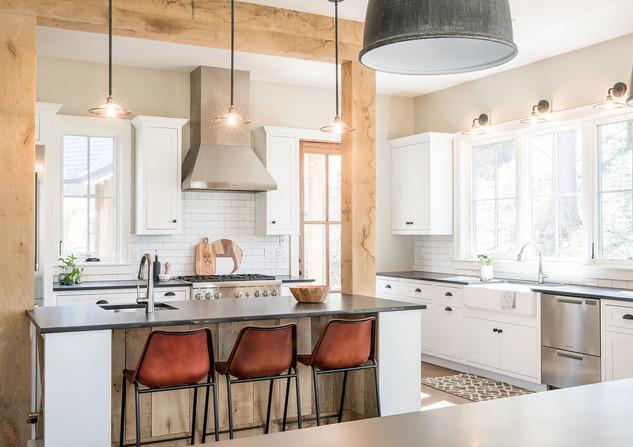 Asheville Modern Farmhouse Kitchen