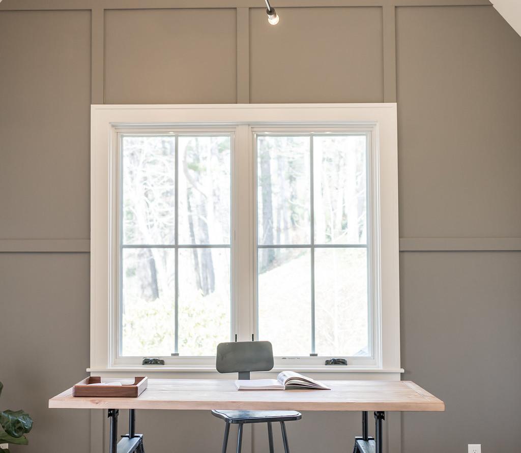 Asheville Modern Farmhouse Office