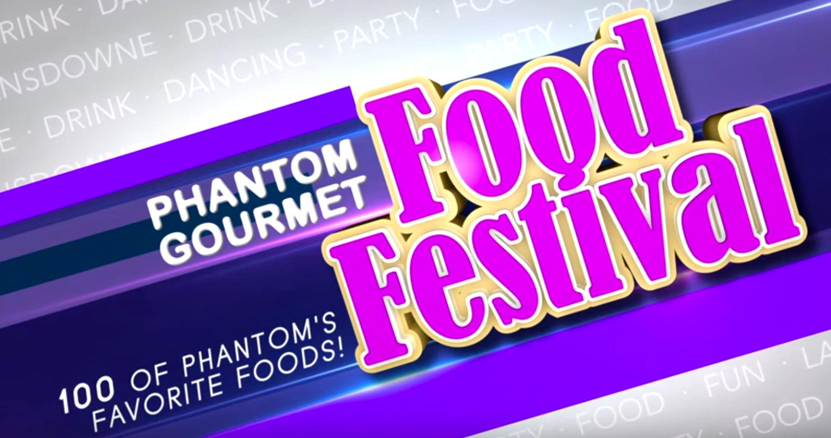 Phantom Gourmet Food Festival 2020 Phantom Gourmet Food Festival