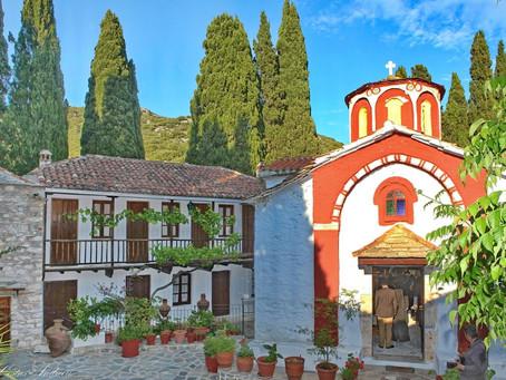 Μοναστήρια στη Σκόπελο//skopelos island monasteries