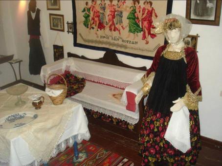 Παραδοσιακή φορέσια Σκοπέλου / traditional wedding dress of Skopelos island