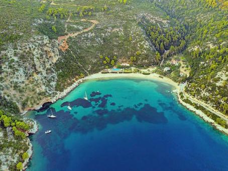 Παραλία Λιμοναρι-Σκοπελος //limnonari beach-Skopelos