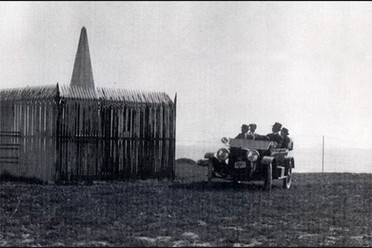 Vehicle at Monument