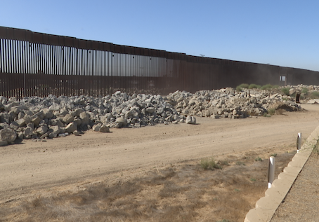 Fox 5 San Diego: Border wall prototypes now nothing but abandoned rubble