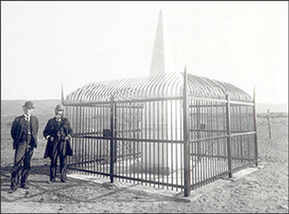 Fenced Monument