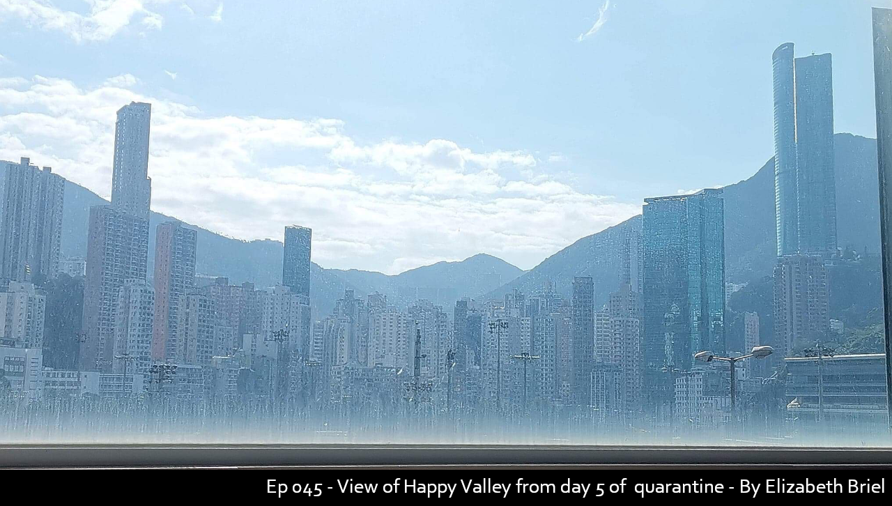 045 - View of Happy Valley from day 5 of