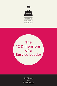 12 Dimensions of a Service Leader cover.