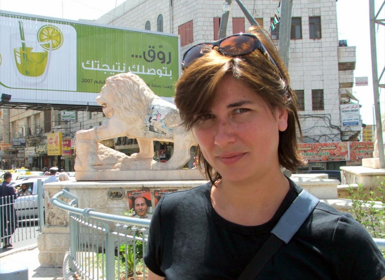 036  - Ramallah Manar Square - By Lisa G