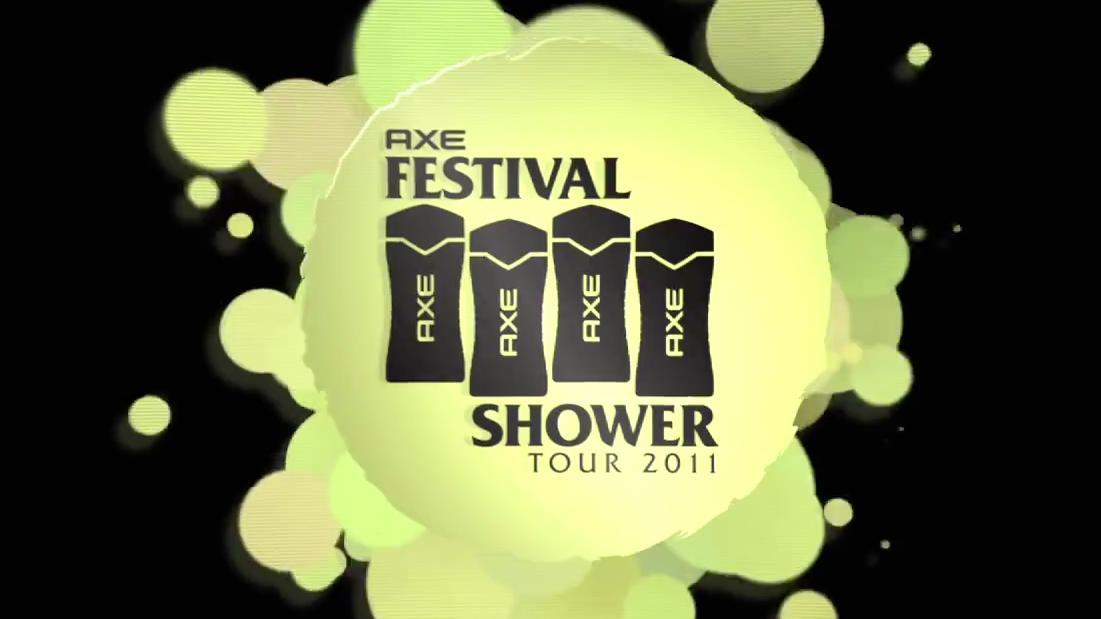 AXE Festival Shower