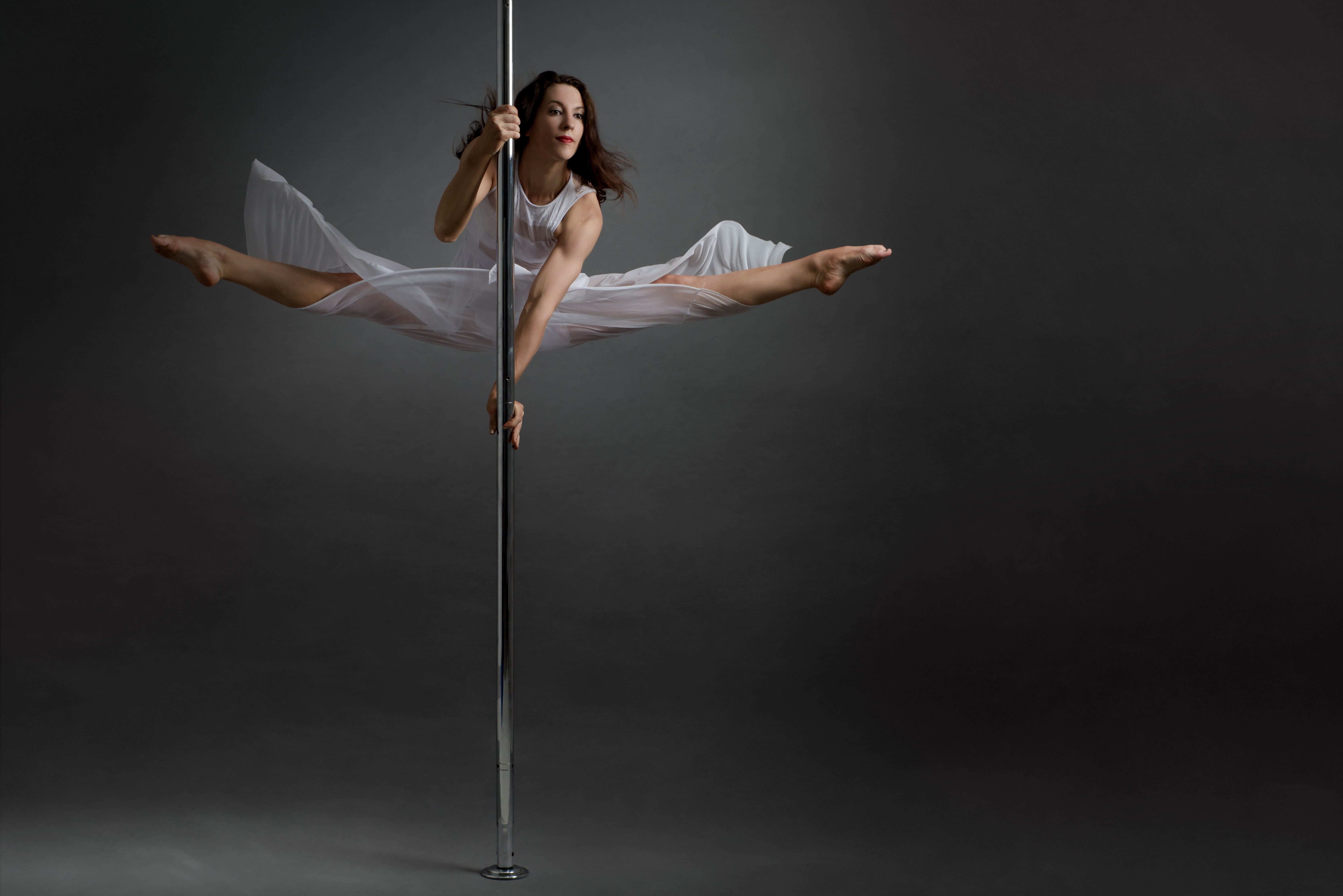 Spinning Pole Flow