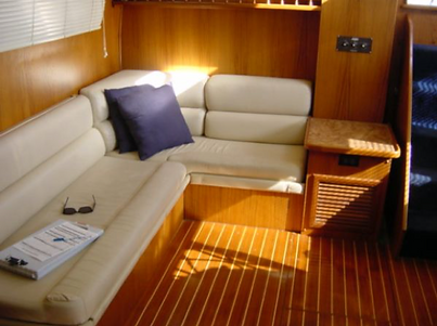 furnishings cabin cruiser