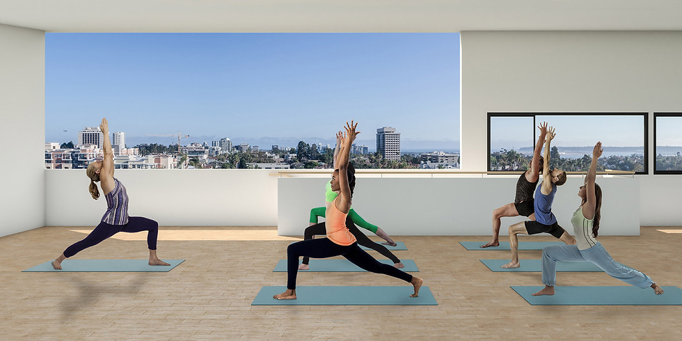 Yoga at Top of the Hill