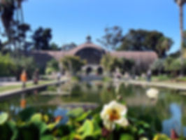 This is a picture of Balboa Park.