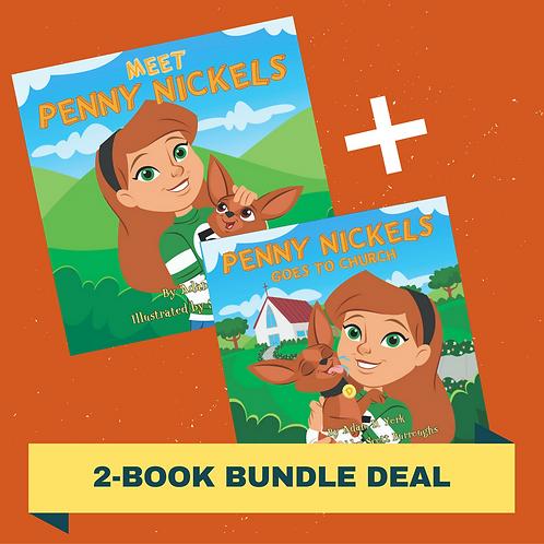 2-Book Bundle: Meet Penny Nickels + Penny Nickels Goes to Church