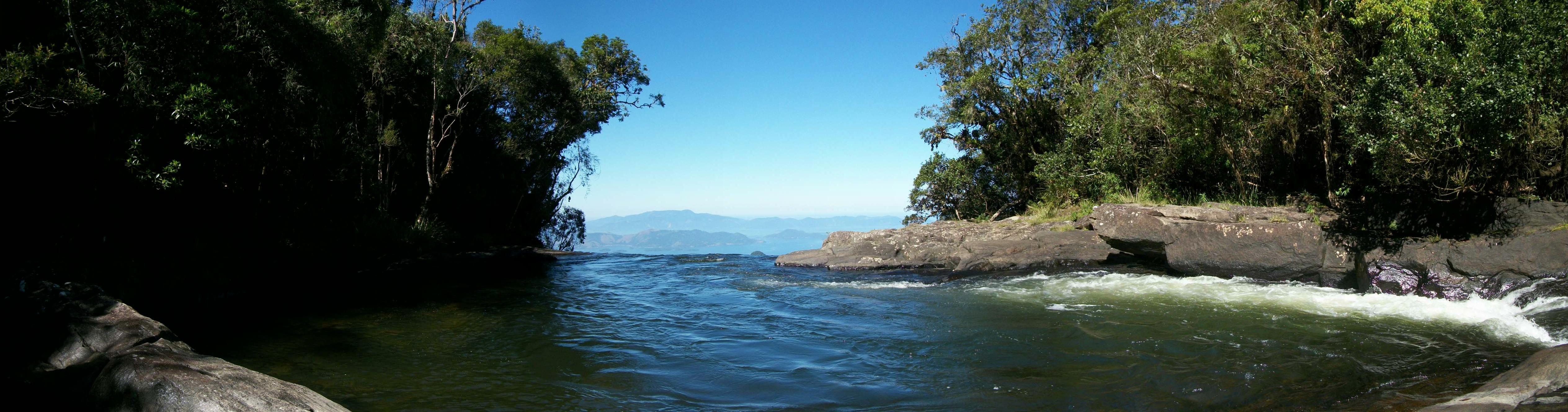 Vista cachoeira Bracuí / Bocaina