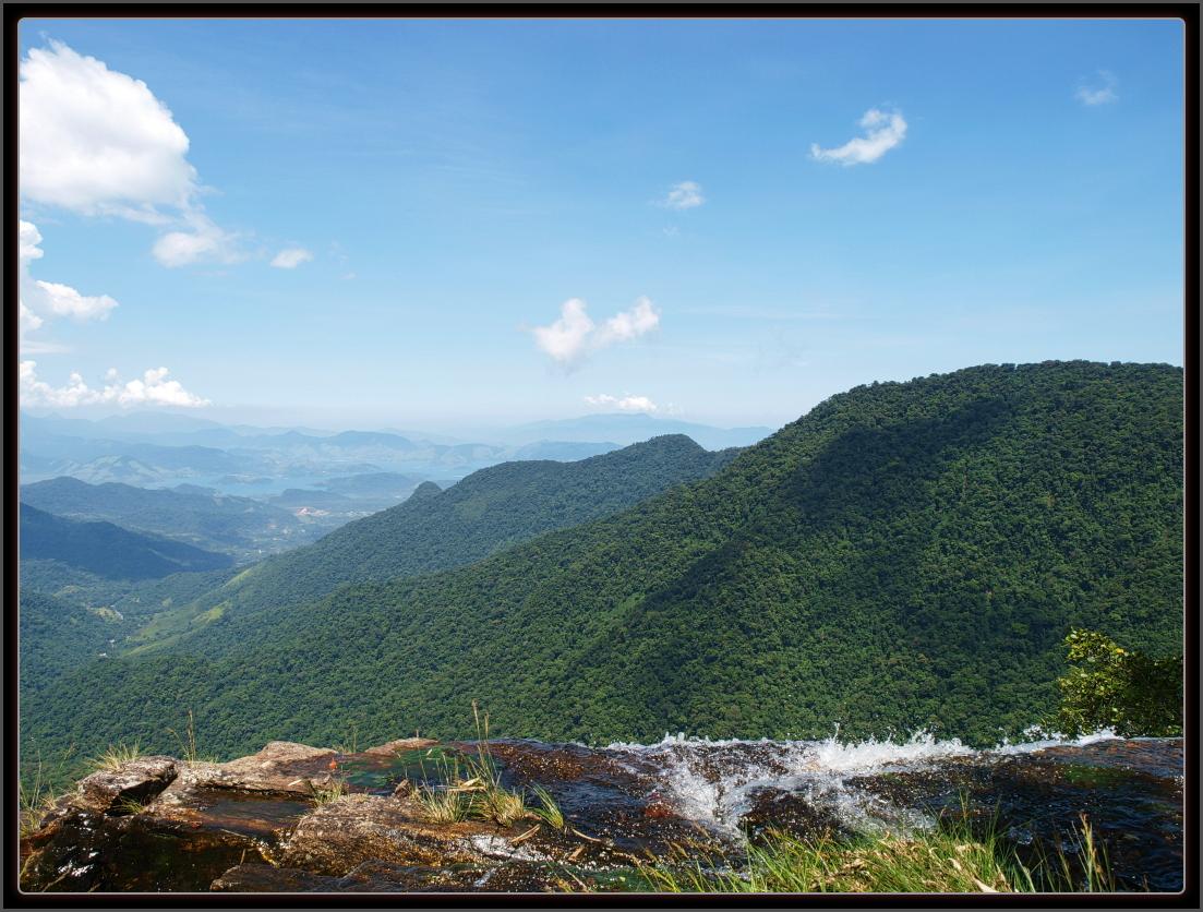 vista cachoeira Bocaina