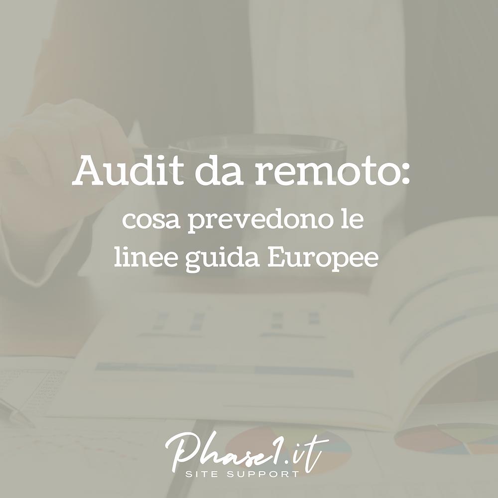 Audit da remoto Sperimentazioni cliniche fase 1