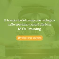 Il trasporto del campione biologico nelle sperimentazioni cliniche (IATA Training) IATA training