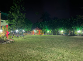 Surabhi 31 Lawn at night