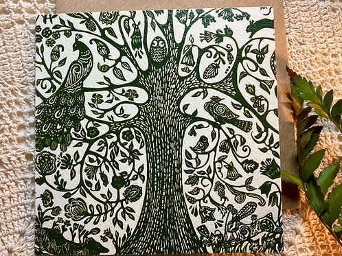 """Tree of Life"" greeting card"