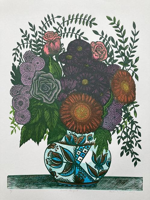 """""""Summer bouquet"""" proof"""