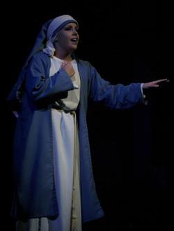 Chelsie as Mary
